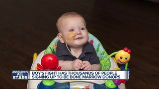10K sign up for bone marrow donation