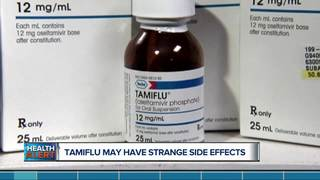 Ask Dr. Nandi: Tamiflu may have strange side...