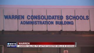 Leaders call for active shooter drills in school