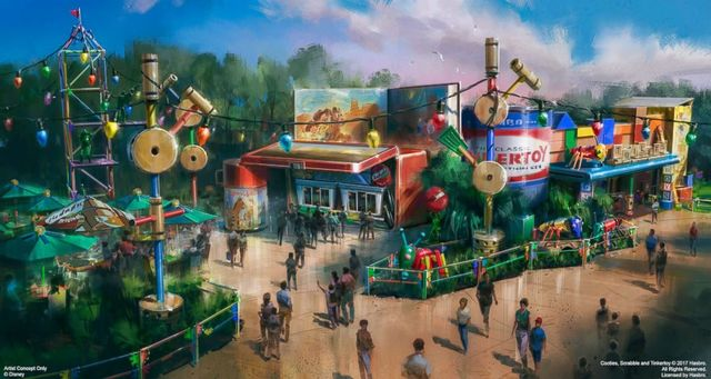 Disney sets opening date for Toy Story Land