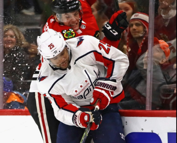 National Hockey League fans ejected for racist taunts at Capitals' Devante Smith-Pelly