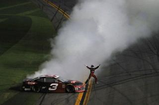 Dillon drives 3 back to victory in Daytona 500