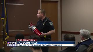 Police talk surviving an active shooter