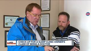 Owner of sleep clinic claimed to be a doctor