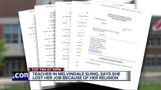 Lawsuit alleges teacher was fired over hijab
