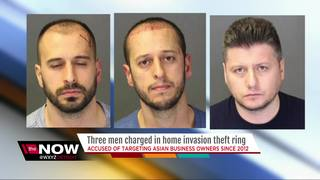 Three arrested in targeted home invasions