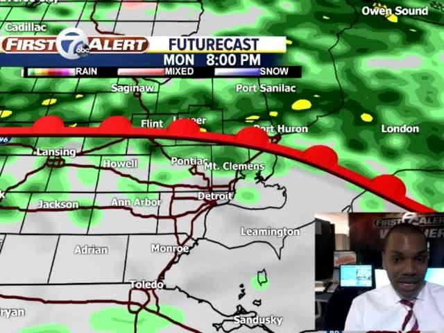 FORECAST: Flood watch through Wednesday