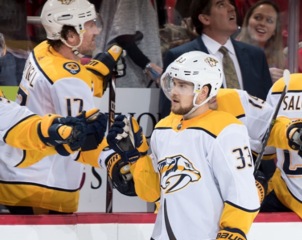 Arvidsson lifts Predators to win over Red Wings