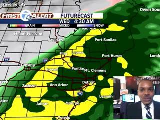 FORECAST: Heavy rain and localized flooding