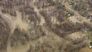Photos: Clinton River floods after February rain