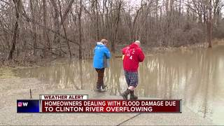 Macomb County residents deal with flooding
