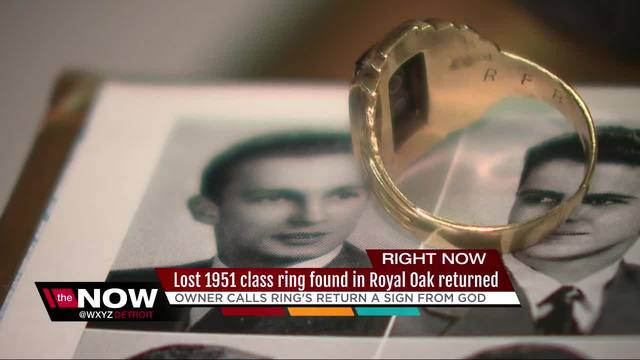 Owner of lost Royal Oak class of 1951 class ring located- to get ring back
