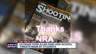 Outrage over Allen Park school threats