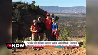 Cancer patient and doctor to climb Everest