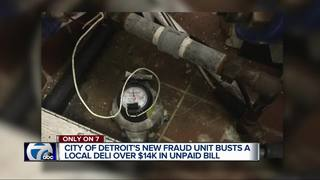 City of Detroit cracking down on water fraud