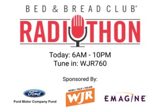 Salvation Army holding Bed & Bread Radiothon