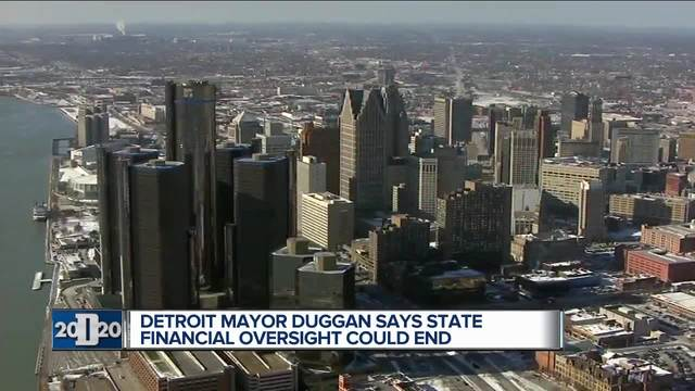 Detroit mayor says the 2019 budget could lead to end of state oversight