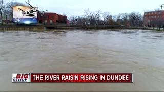 Flooding closes M-50 bridge in Dundee
