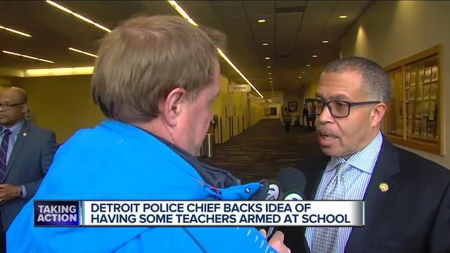 Chief Craig on guns in schools