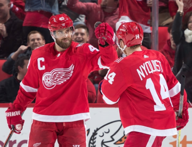 Daley Scores in OT as Red Wings Defeat Rangers