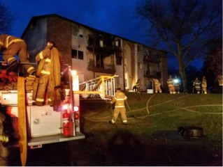 Multiple rescued from Waterford apartment fire