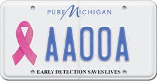 Michigan license plates go PINK!