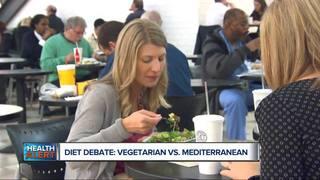 Healthier: Vegetarian or Mediterranean diet?