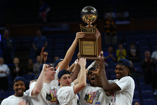 ISU goes cold as top-seeded Loyola charges to Valley title