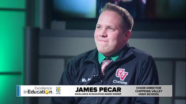 Excellence in Education James Pecar