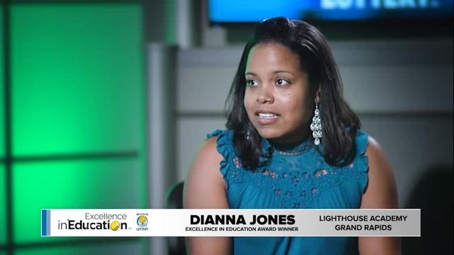 Excellence in Education Dianna Jones