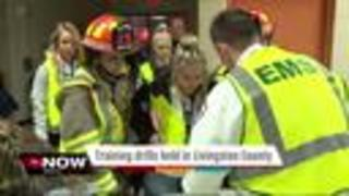 First responders hold active shooter drill