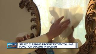 Cleaning products can be very harmful to lungs
