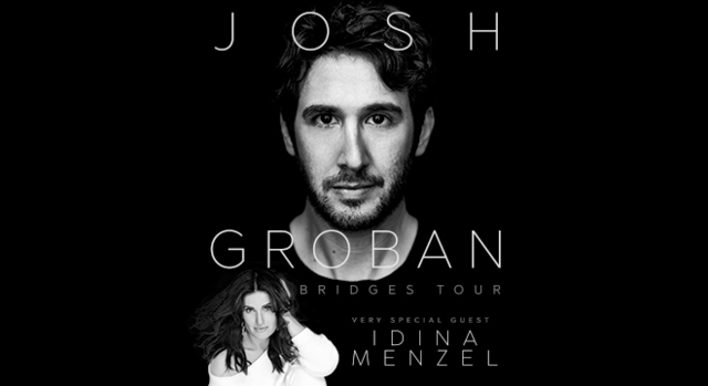 Josh Groban, Idina Menzel set arena tour together