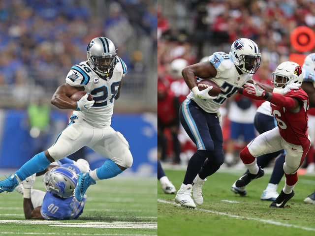 RBs Murray, Stewart to visit Lions