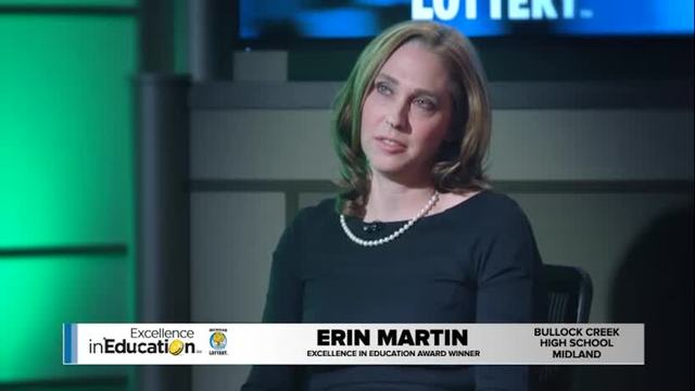 Excellence in Education Erin Martin