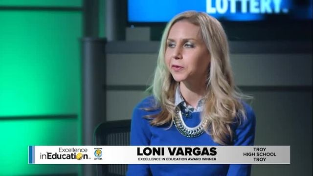 Excellence in Education Loni Vargas