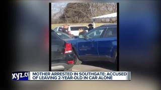 Mom arrested, left kid in car while she shopped
