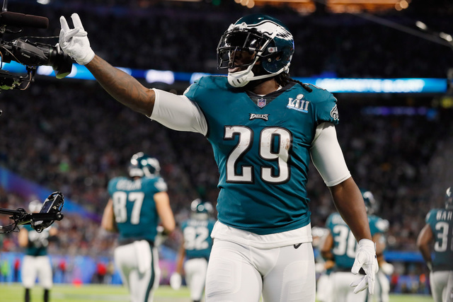 National Football League  free agents 2018: LeGarrette Blount leaving Eagles for Lions?