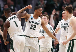 Miles Bridges leads Michigan State over Bucknell