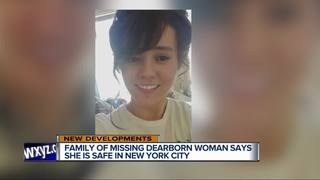 Missing Dearborn woman found in New York