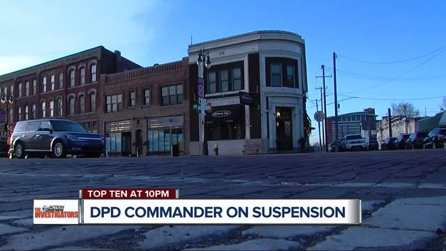 Detroit police commander working as a bouncer is under investigation after injuring man