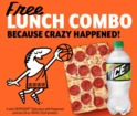 Little Caesars offering free lunch combo