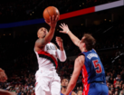 Blazers beat Pistons for 12th straight victory
