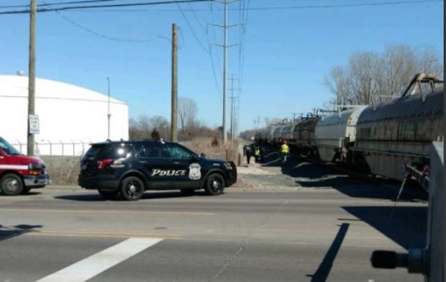 Man hit by train in Westland