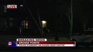 Standoff ends with man inside Grosse Pointe home