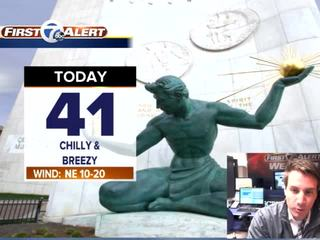 FORECAST: A Chilly Monday