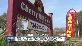 Inkster apartment owner faces fines, jail time