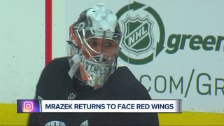 VIDEO: Petr Mrazek was ready for a trade