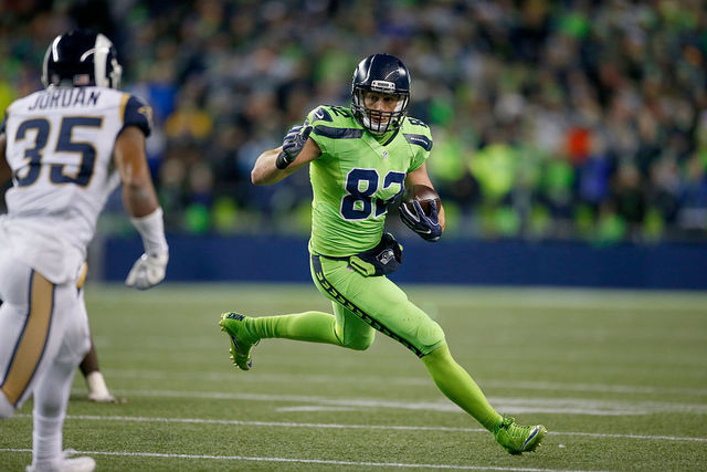 Detroit Lions sign ex-Seahawks TE Luke Willson