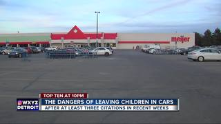 Reports of kids left in cars in Sterling Heights